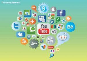 vector social media
