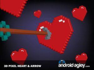 corazones pixel
