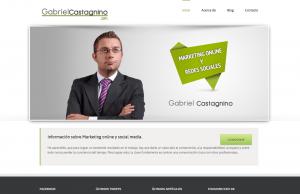 Diseño web Gabriel