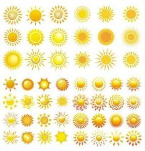 vector-sol-verano