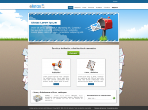 Elistas diseño web home