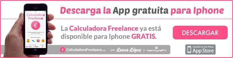 Calculadora Freelance para Iphone GRATIS
