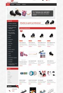 Tienda online prestashop hockeyplayer