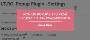 plugin popup wordpress itro