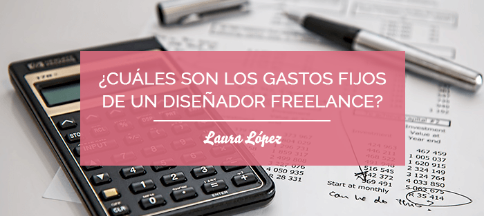 gastos diseñador freelance