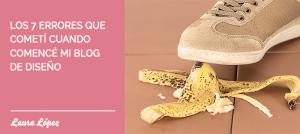 Errores blog diseño