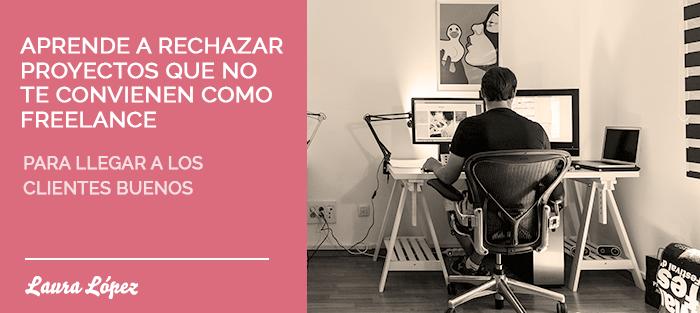 rechazar clientes freelance