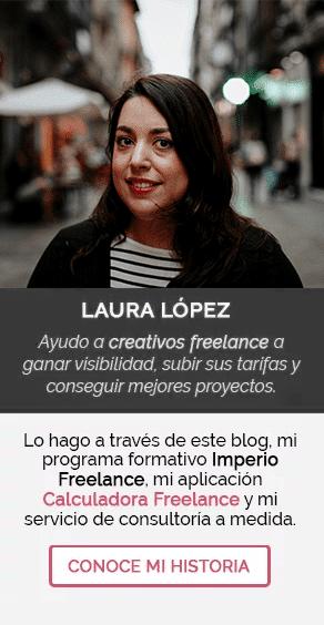 Laura López - Diseñadora gráfica y web
