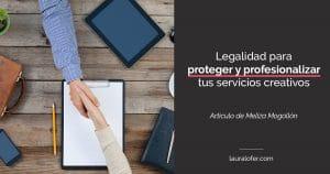 Legalidad servicios creativos